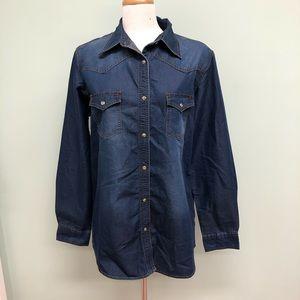 Wrangler | Men's Denim Shirt | Size L